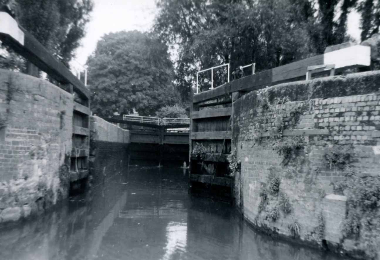 Lock into River Avon from Severn 1969